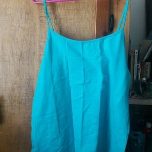 Tops - Turquoise Cami Brand New